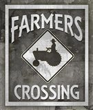 Farm Sign Farmers Crossing