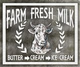 Farm Sign Fresh Milk 2