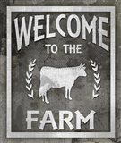 Farm Sign Welcome To The Farm