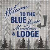 Blue Bear Lodge Sign 3