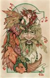 Lady Autumn And The Green Man