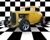 Yellow Hotrod
