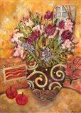 Elyseium Vase Of Flowers