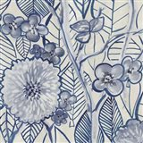 Indigo Leaves And Florals 2