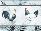 Roosters Mat