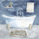Watercolor Bathroom I