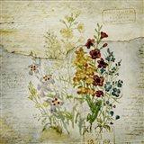 Flower Print Grunge One