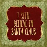 Belive In Santa Claus God