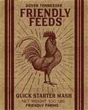 Friendly Feeds Rooster