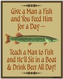 Give Teach Fish Beer