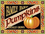 Pumpkin Crate Label