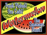 Watermelon Crate Label