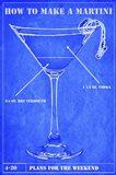 Martini Blue Print II