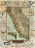 California Bicycle Map