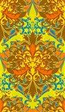 Orange & Yellow (Pattern)