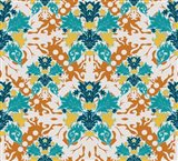 Teal & Orange (Pattern)