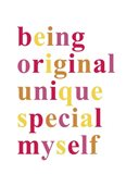 Being Original