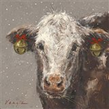 Patty the Brown Christmas Cow