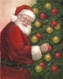Santa with Ornaments