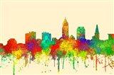 Cleveland Ohio Skyline-SG