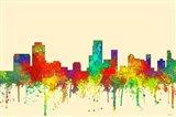 Newark New Jersey Skyline-SG