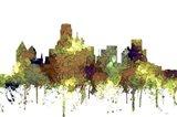 Dallas Texas Skyline - Safari Buff