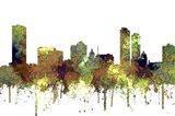 Milwaukee Wisconsin Skyline - Safari Buff