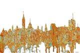 Ottawa Ont Skyline Rust
