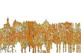 Victoria BC Skyline - Rust