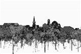 Alexandria Virginia Skyline - Cartoon