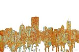 Boston Mas Skyline - Rust