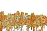 Buffalo New York Skyline - Rust