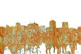 Colorado Springs Colorado Skyline - Rust