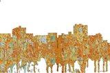 Maryville Tennessee Skyline - Rust