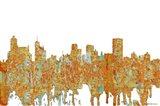 Memphis Tennessee Skyline - Rust