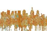 Philadelphia Skyline - Rust
