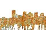 Phoenix Arizona Skyline - Rust