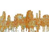 Tempe Arizona Skyline - Rust