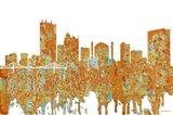 Toledo Skyline - Rust