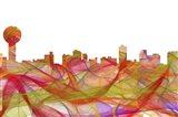 Knoxville Tennessee Skyline.-Summer Swirl jpg