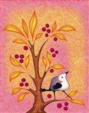 Blank Card Bird 4b