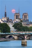 Fullmoon In Notre Dame De Paris