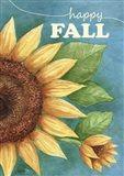 Happy Fall Sunflower