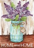 Lilacs Home Sweet Home Jar