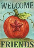 Pumpkin Star Welcome Autumn 2
