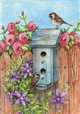 House Sparrow Flag