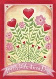 Valentines Day Happy Flowers