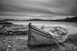 Boat Ashore BW