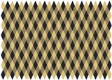 Christmas Black And Gold Harlequin