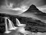 3 Waterfalls BW